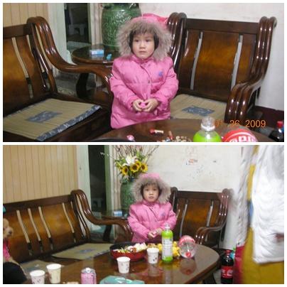我的小小表妹~像個娃娃呢.jpg