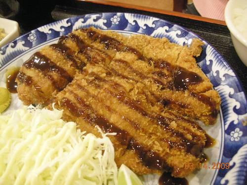 喜樂屋-日式炸豬排特寫.JPG