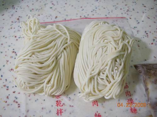 家傳香菇肉燥麵之麵團.JPG