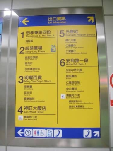 捷運出口指示.JPG