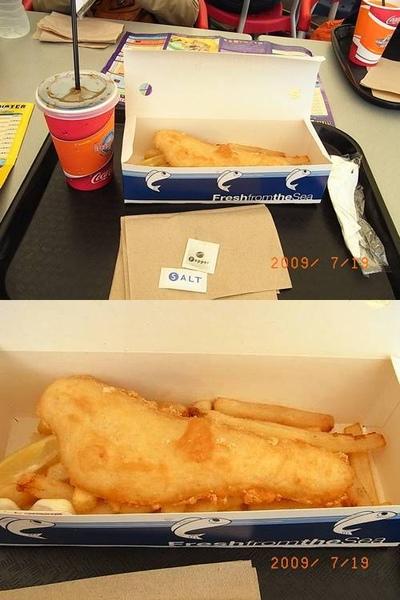 fish and chip....是所有餐點最好吃的了!