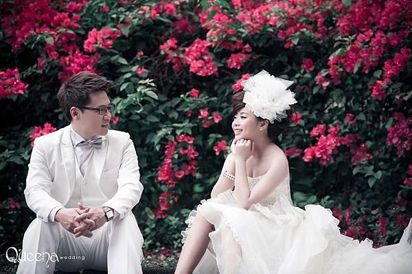 台中婚紗推薦 Queena 昆娜婚紗 Queena婚紗 台中禮服 租禮服 拍婚紗