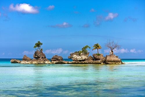 長灘島-聖母岩礁-1