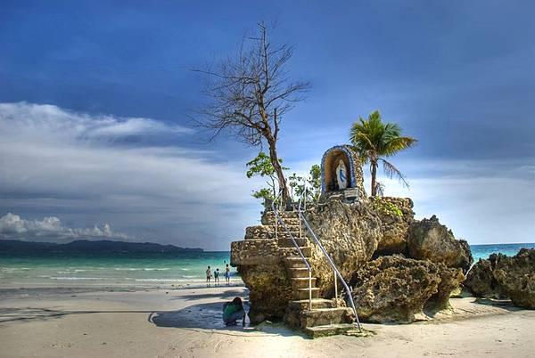 長灘島-聖母岩礁