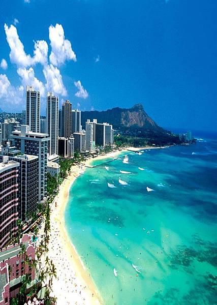 夏威夷 檀香山-威基基海灘