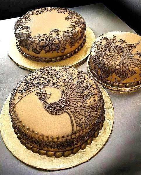 好別緻的蕾絲蛋糕.......這...根本就是藝術品吧@@.....!!!