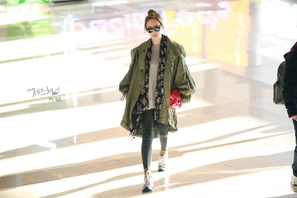 機場時尚-Jessica
