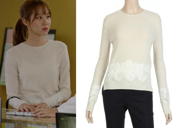 ji-hae-soos-white-long-sleeve-lace-embellished-top