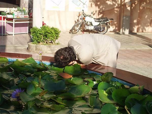 2005.05.17苗栗 假面藝術節26-3--哈尼用不同角度拍攝,希望拍到更美的