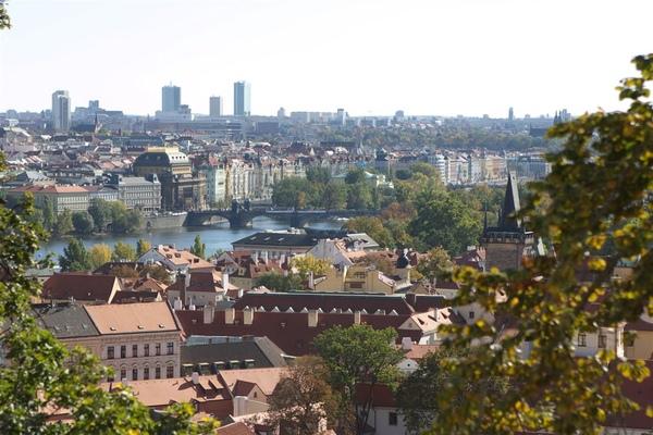 後來去一家景觀餐廳午餐,可以順便俯瞰布拉格