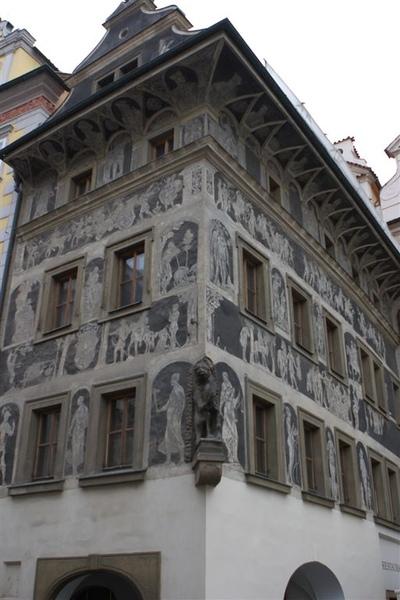 卡夫卡的老家,在舊城廣場邊