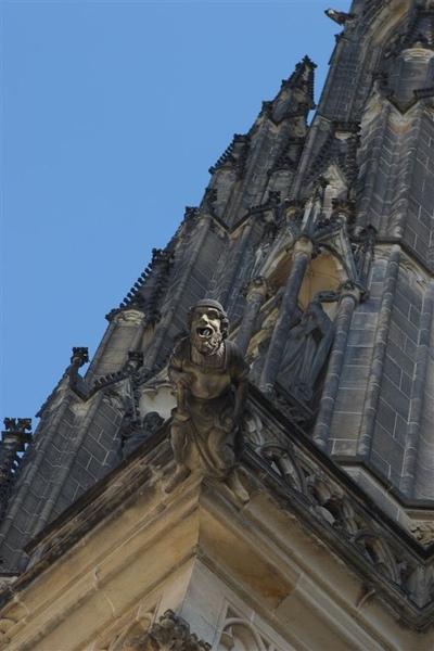 St. Vitus Cathedral's Gargoyle