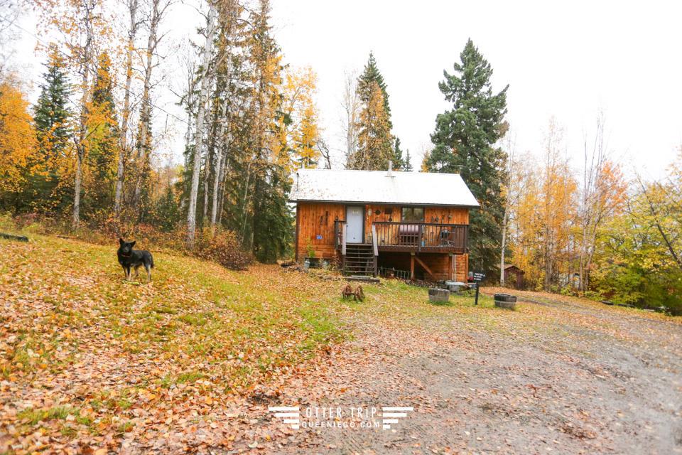阿拉斯加Fairbanks極光小屋 A Taste of Alaska Lodge 我最愛住宿在Alaska