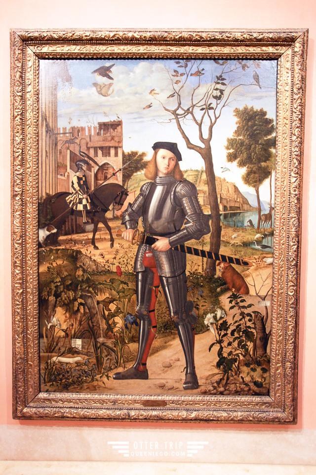 西班牙馬德里 提森-博內米薩博物館博物館Museo Thyssen-Bornemisza 藝術三聖殿之一觀天下