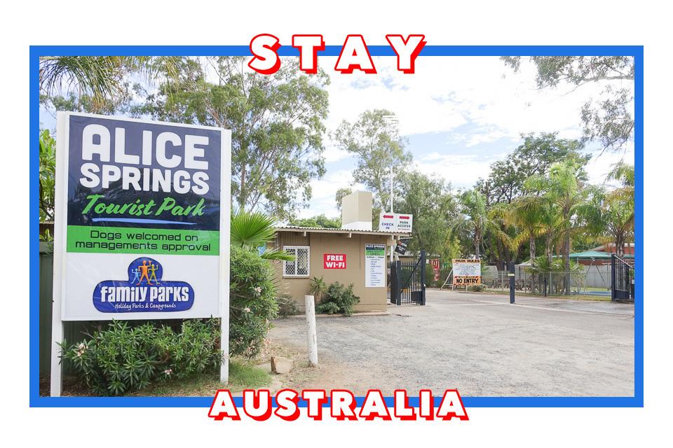 澳洲北領地/愛麗絲泉住宿/Alice Springs Tourist Park/愛麗絲泉露營車營地