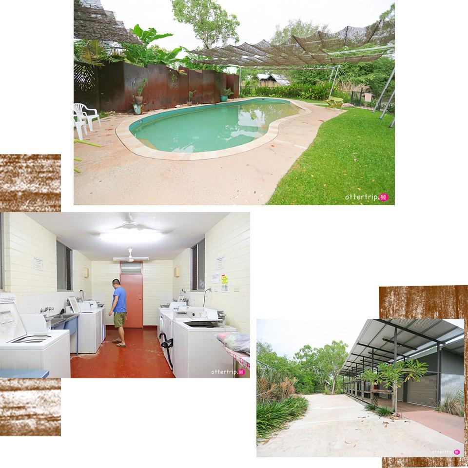 澳洲北領地卡卡杜國家公園露營車營地 Anbinik Kakadu Resort 獨立衛浴營地