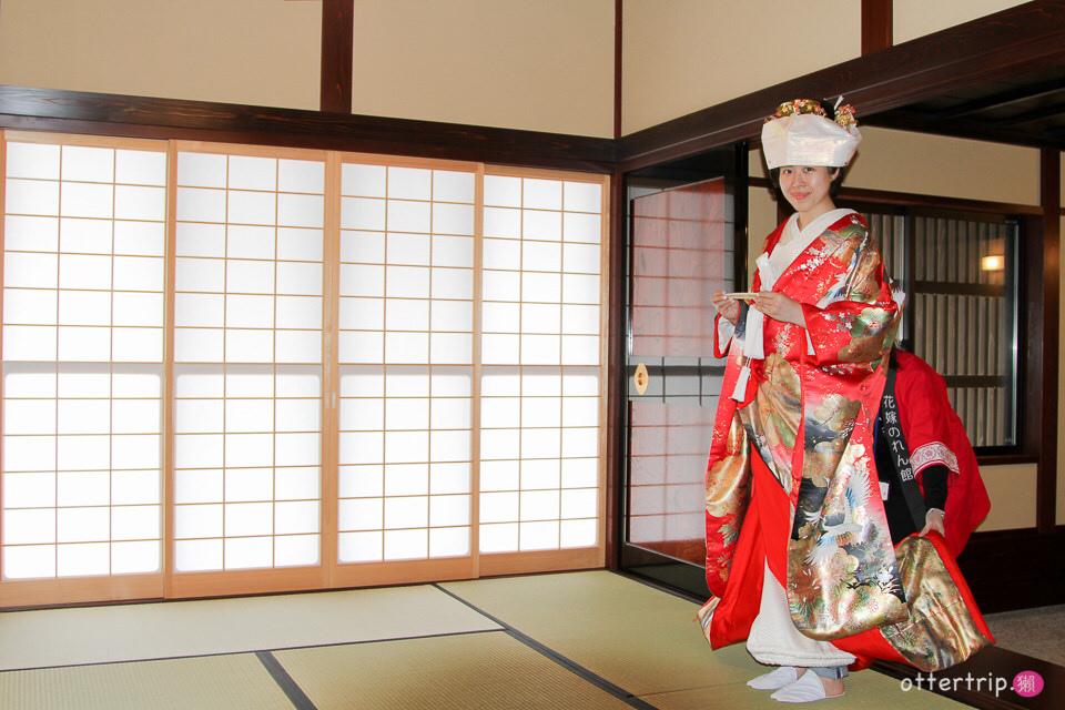 日本北陸 花嫁暖簾館 日本傳統結婚禮服體驗(色打掛或白無垢)只要3千日圓