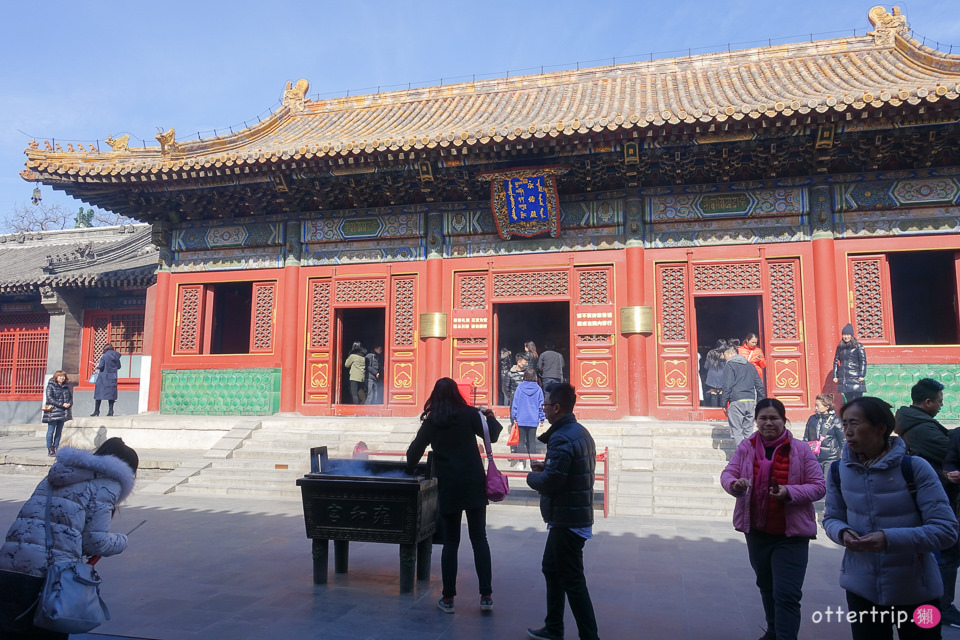 北京景點推薦 雍和宮 四爺雍正的故居也是藏傳佛教格魯派寺廟