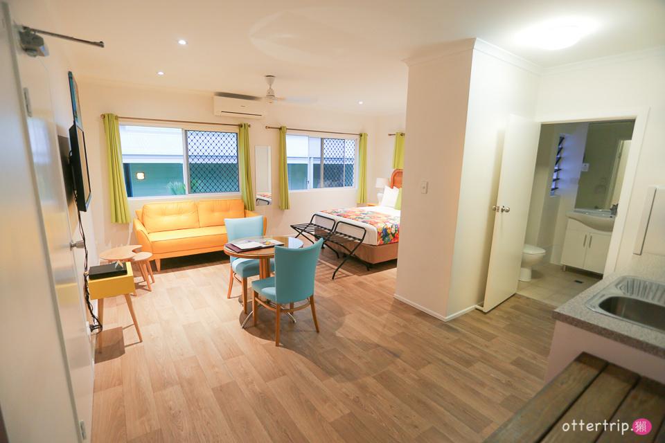 澳洲昆士蘭道格拉斯港  Port Douglas Motel 性價比很高的汽車旅館