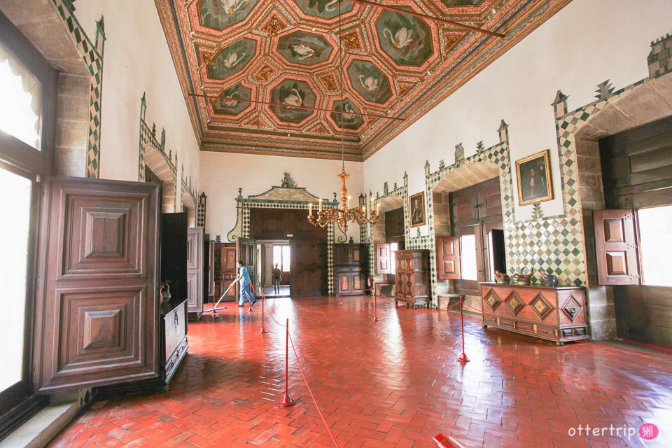 葡萄牙里斯本 辛特拉宮Palacio Nacional de Sintra 佩納宮Palácio da Pena 世界盡頭的宮殿