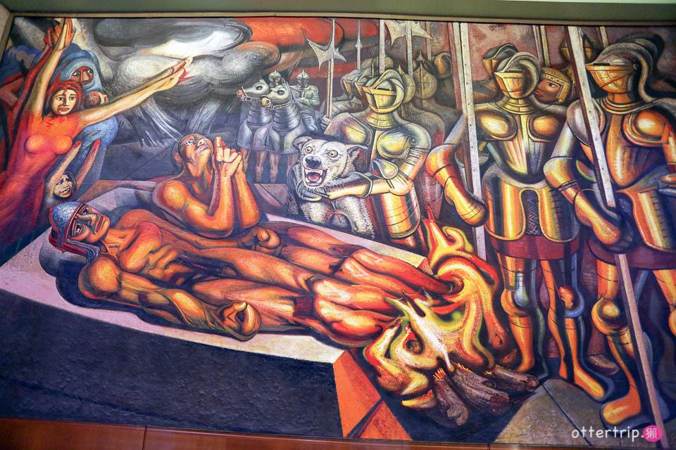 墨西哥城必遊景點  墨西哥城藝術殿堂「藝術宮」(Palacio de Bellas Artes)