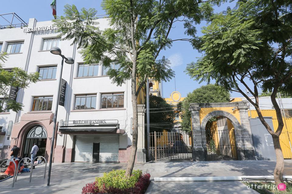 墨西哥城住宿推薦 Chaya B&B Boutique 藝術宮邊上的民宿