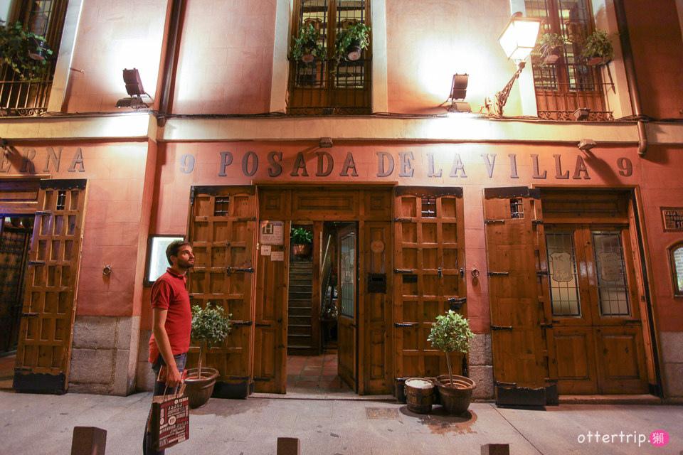 西班牙馬德里餐廳 米其林Bib Gourmand餐廳Posada De la villa吃烤羊