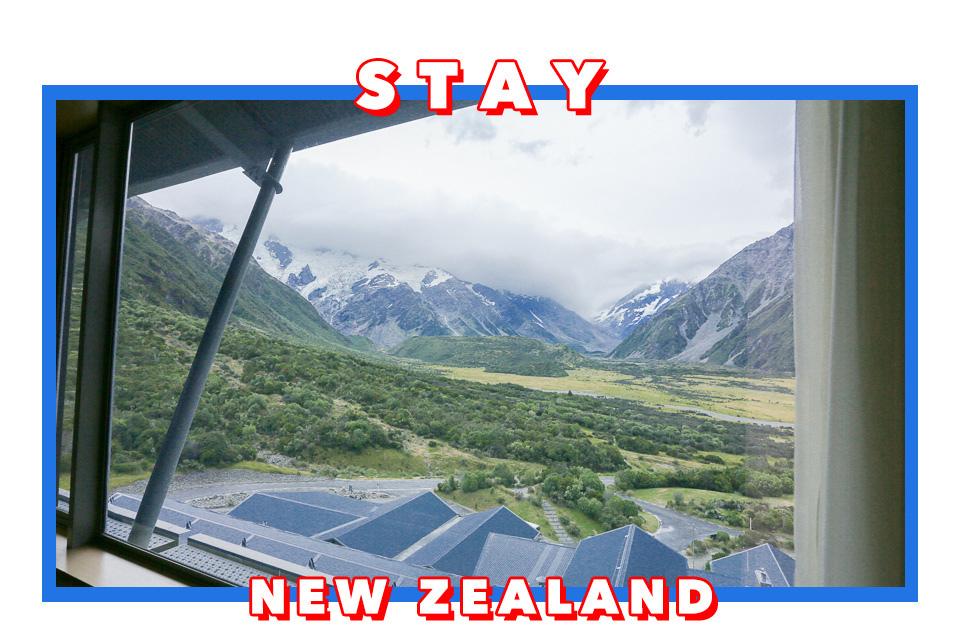 紐西蘭   庫克山隱士飯店The Hermitage Hotel的Premium Plus房和Alpine Restaurant