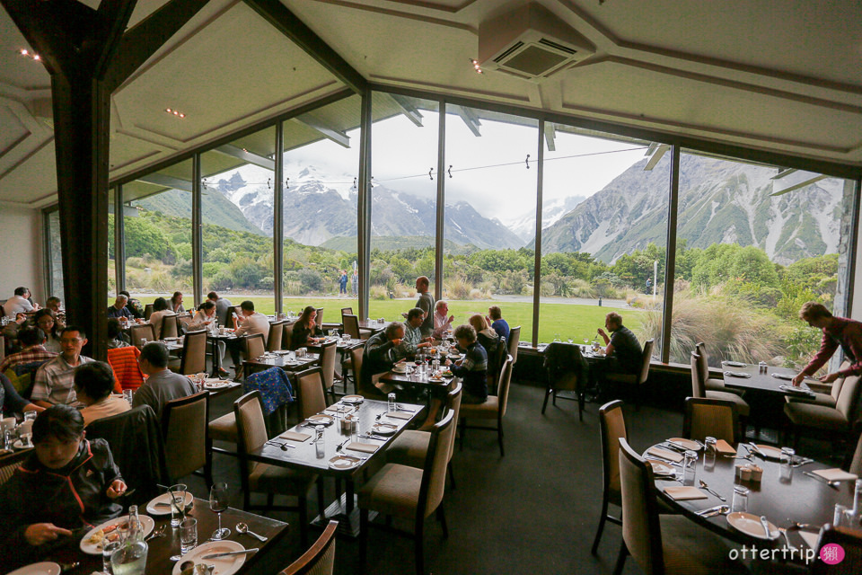 紐西蘭 | 庫克山隱士飯店The Hermitage Hotel的Premium Plus房和Alpine Restaurant