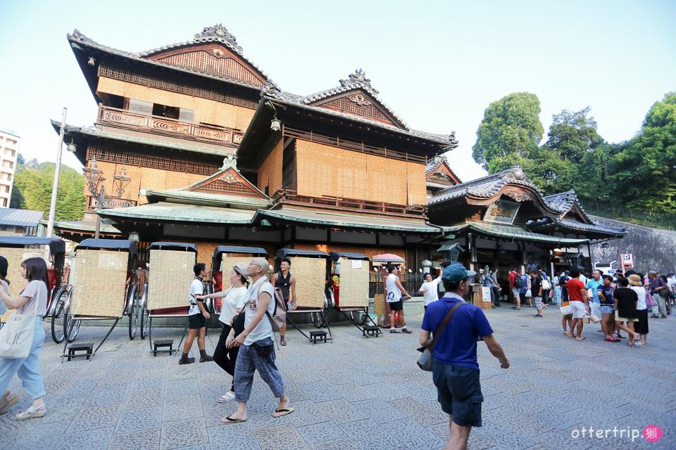 日本四國松山 | 道後溫泉 天皇也泡過的公共溫泉