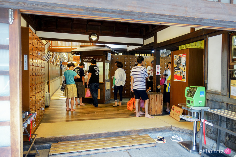 日本四國松山   道後溫泉 天皇也泡過的公共溫泉