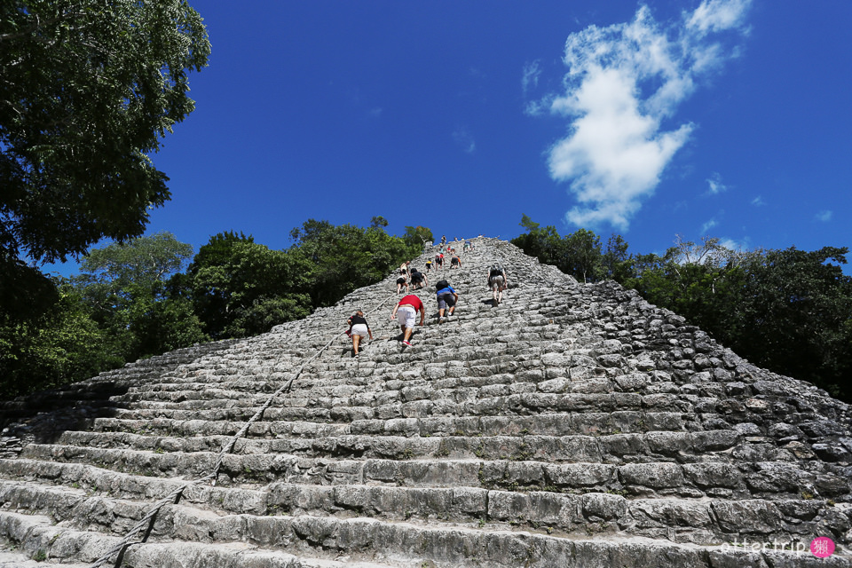 墨西哥Coba | 科巴金字塔  騎腳踏車逛瑪雅遺跡