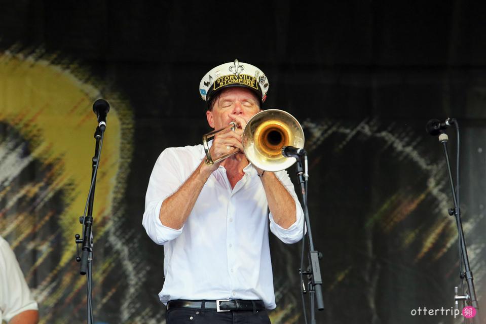 【美國纽奧良】纽奧良爵士音樂節連警察叔叔都High了