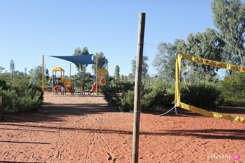 澳洲北領地烏魯魯 ▌露營車營地 ▌艾爾斯岩渡假村還是應該住飯店啊!