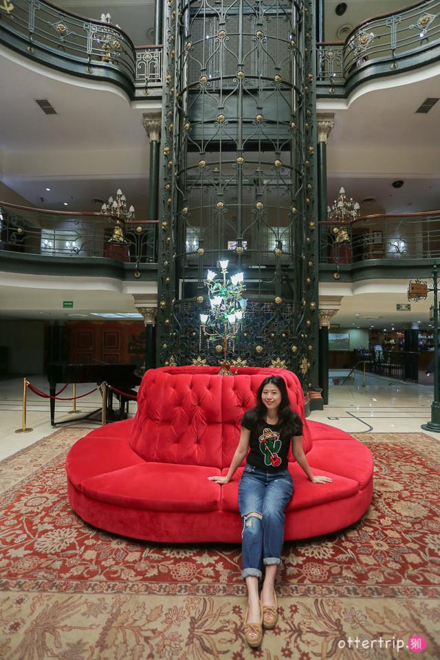 墨西哥城推薦住宿  Gran Hotel Ciudad de Mexico 007惡魔四伏取景地