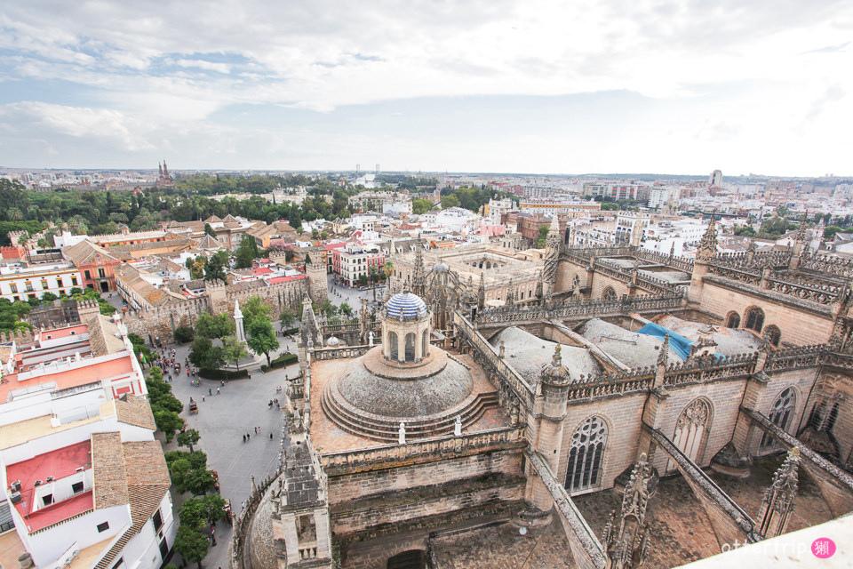 西班牙塞維亞 哥倫布長眠之地 塞維亞主教座堂Catedral de Sevilla