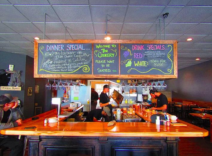 阿拉斯加Seward美食推薦  Seward Brewing Company The Cookery Apollo Restaurant