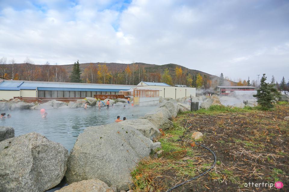 「阿拉斯加」Chena Hot Springs Resort 珍娜溫泉泡溫泉, Aurora Ice Museum喝蘋果馬丁尼