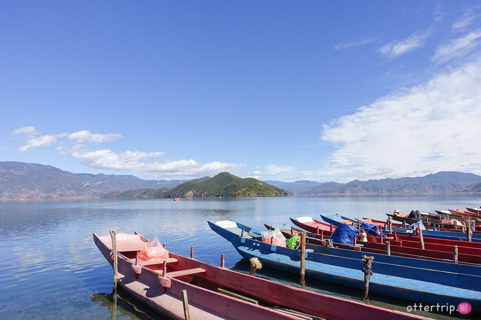 「雲南自由行」瀘沽湖的初秋