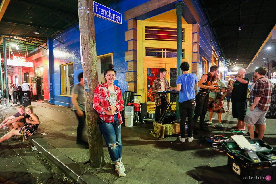 [美國紐奧良] 法國人街Frenchmen Street裡的高質量爵士樂