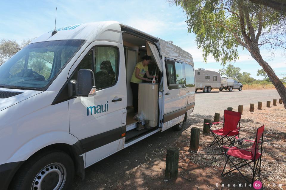 「澳洲北領地」露營車自駕遊~Maui的Ultima露營車內部以及露營車使用指南