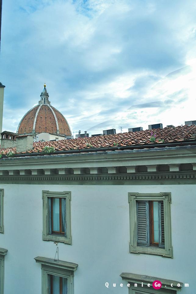 [義大利佛羅倫斯飯店住宿]Rocco Forte Hotel Savoy左看共和廣場,右看聖母百花大教堂