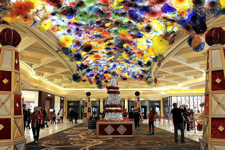 [美國拉斯維加斯住宿]在曾經拉斯維加斯最好酒店Bellagio Hotel and Casino賭一把