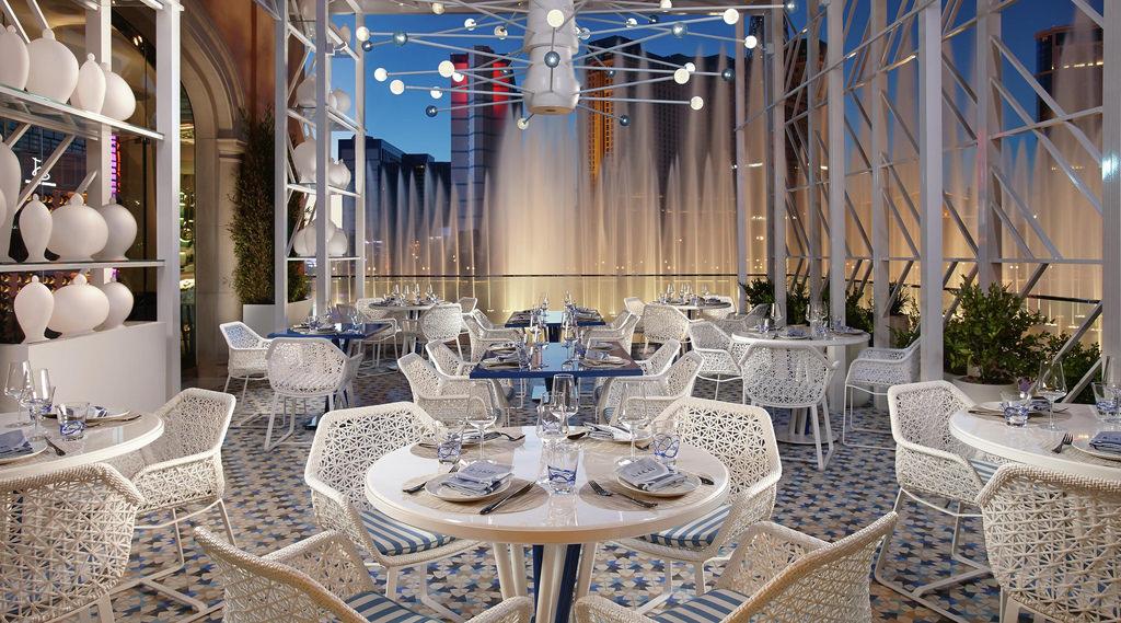 Bellagio Restaurant Lago Patio Architecture