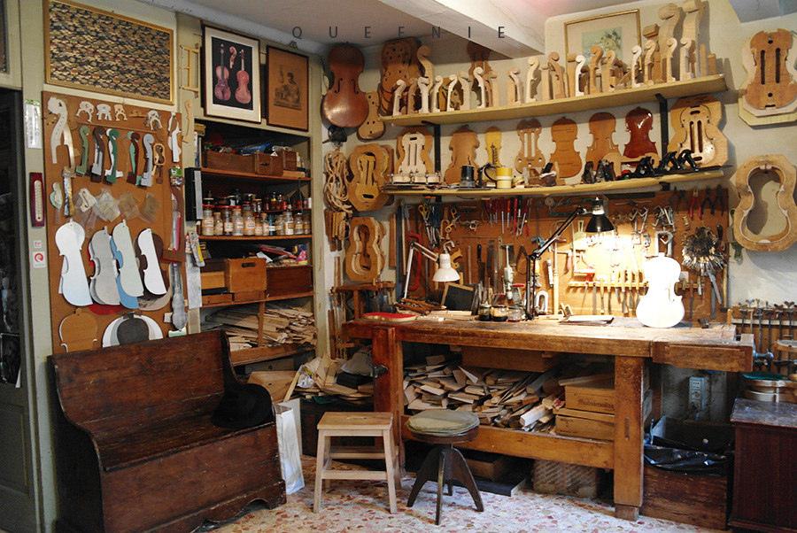「義大利克雷蒙纳」琴繫克雷蒙纳~探訪製作小提琴的大師Conia工作室