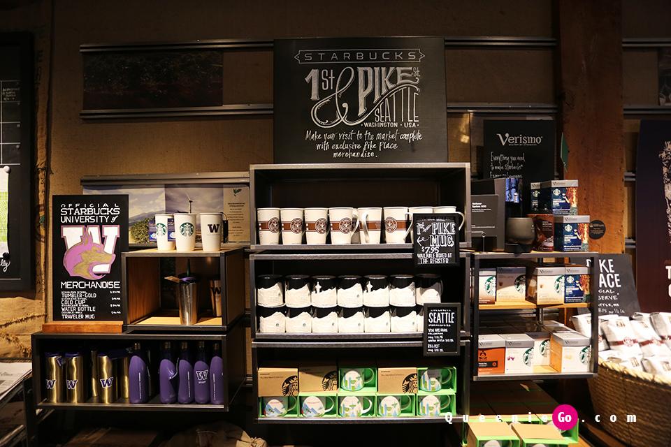 「美國西雅圖」在派克市场起家的全世界第一家星巴克創始店以及復刻店