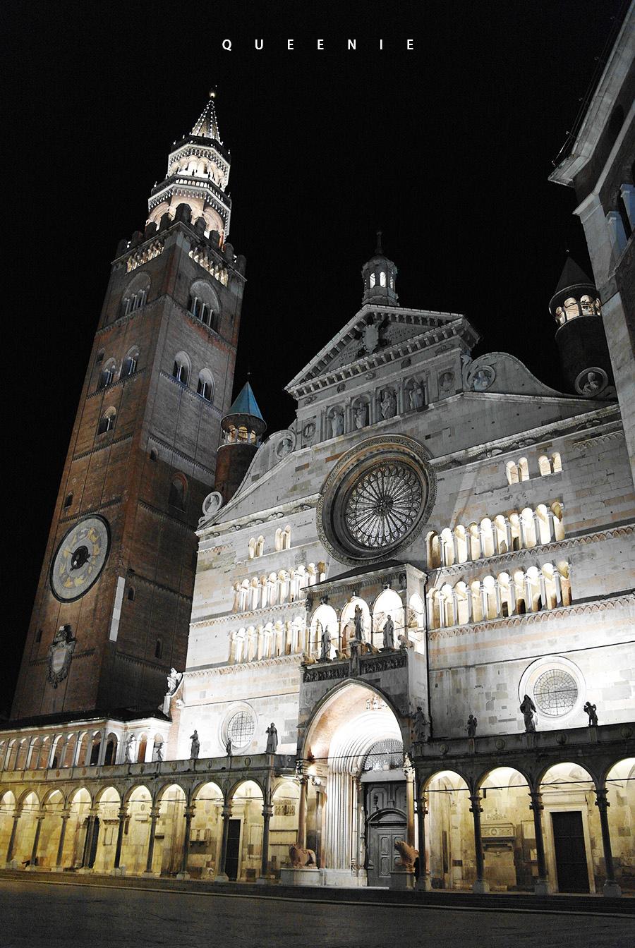 「義大利克雷蒙纳」克雷蒙纳大教堂及尋找義大利世博吉祥物Foody