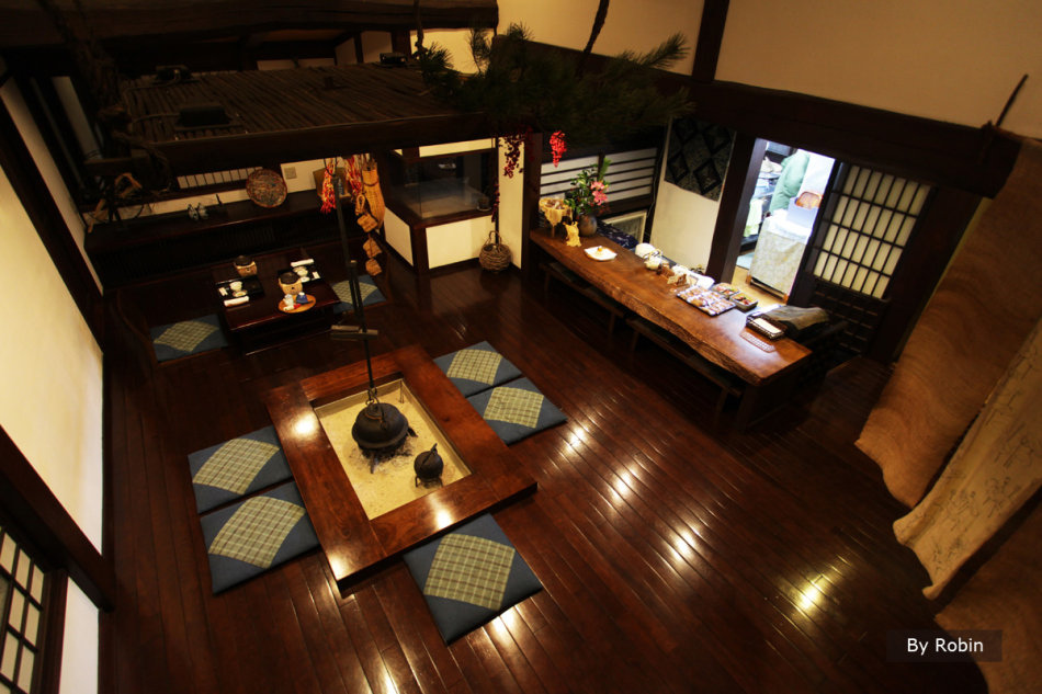 日本岐阜白川鄉住宿 在蕎麥麵店-蕎麥莊住一次高級版的合掌造