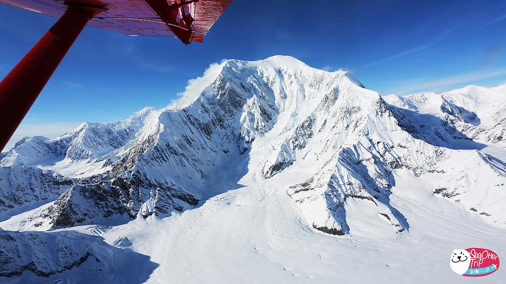 「阿拉斯加Talkeetna」近看北美最高峰-Denali山的絕美飛行記