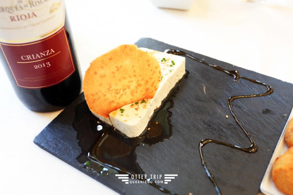 西班牙La Rioja拉里奧哈 Hotel Marques de Riscal內1860 Tradición的美食美酒
